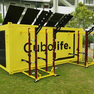 Cubo Amarillo - Contenedor Gym