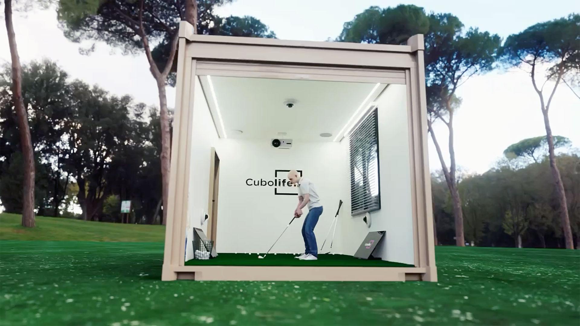 Cubo Life - Gimnasio Modular. Golf